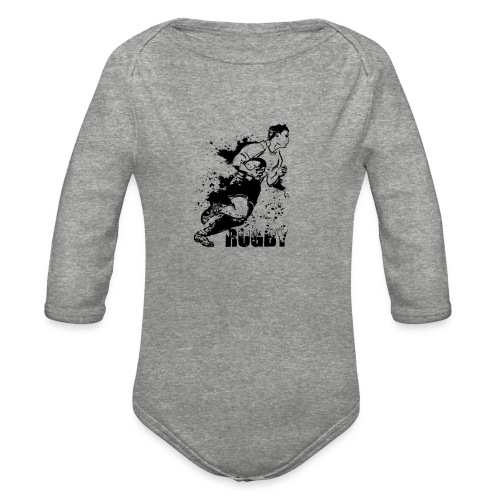 Just Rugby - Organic Long Sleeve Baby Bodysuit
