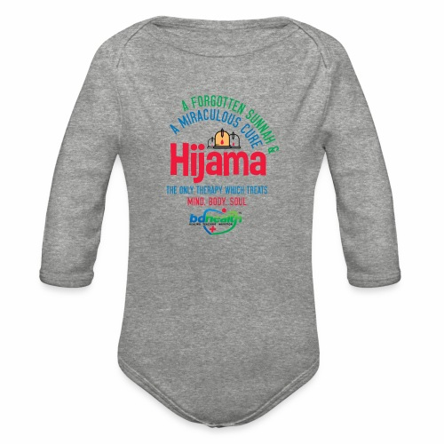 Hijama/Cupping/ Cupping therapy/ BD Health - Organic Long Sleeve Baby Bodysuit