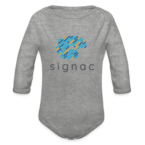 signac - Organic Long Sleeve Baby Bodysuit