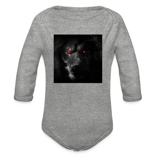 Black ye - Organic Long Sleeve Baby Bodysuit