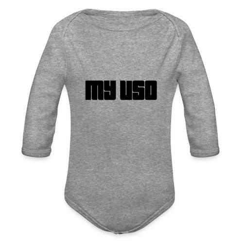 MY USO Collection - Organic Long Sleeve Baby Bodysuit