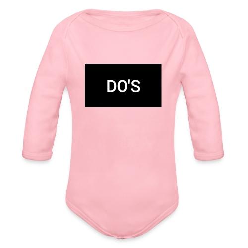 Snapshot 568 - Organic Long Sleeve Baby Bodysuit