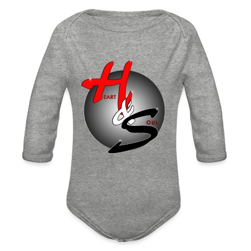 Heart & Soul Concerts official Brand Logo - Organic Long Sleeve Baby Bodysuit