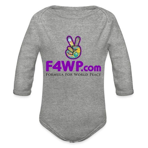 F4WP.com - Organic Long Sleeve Baby Bodysuit