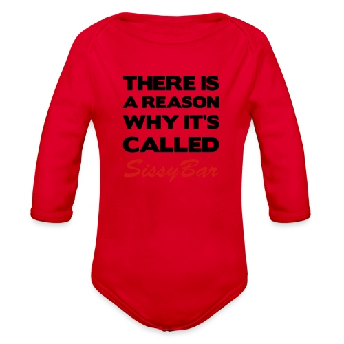 Sissybar - Organic Long Sleeve Baby Bodysuit