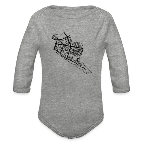 Friedrichshain Berlin - Organic Long Sleeve Baby Bodysuit
