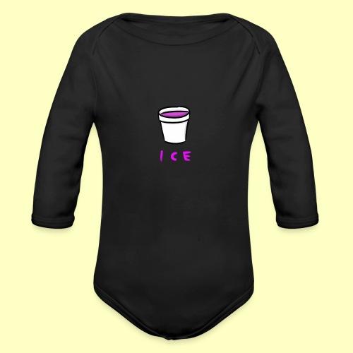 ICE - Organic Long Sleeve Baby Bodysuit