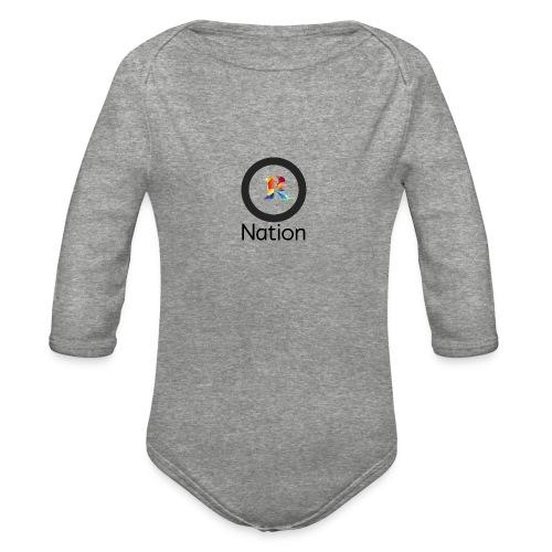 Reaper Nation - Organic Long Sleeve Baby Bodysuit