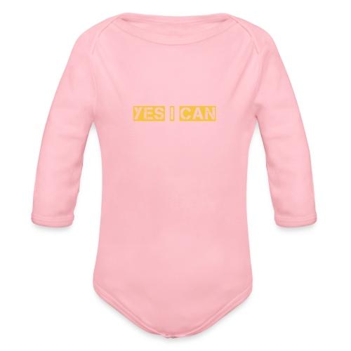 SPRAYPAINT - Organic Long Sleeve Baby Bodysuit