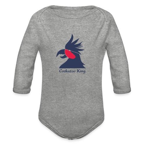Cockatoo Logo - Organic Long Sleeve Baby Bodysuit