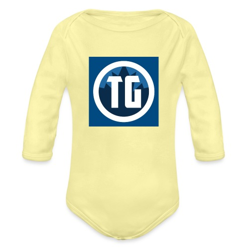 Typical gamer - Organic Long Sleeve Baby Bodysuit