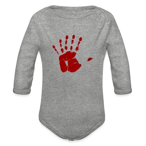 Six Fingers - Organic Long Sleeve Baby Bodysuit