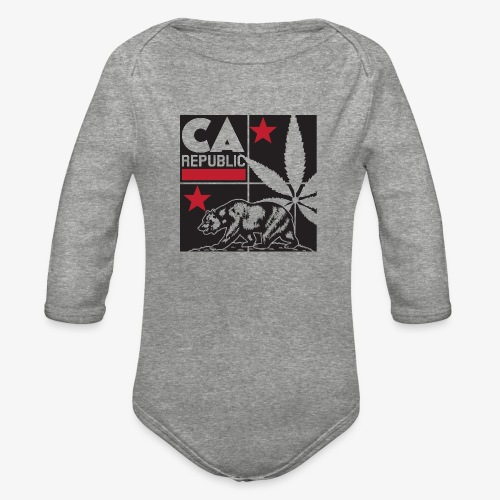 grid2 png - Organic Long Sleeve Baby Bodysuit