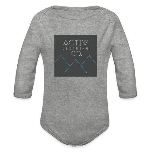 Activ Clothing - Organic Long Sleeve Baby Bodysuit