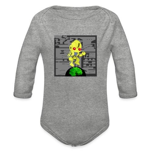 Hollow Earth Mug - Organic Long Sleeve Baby Bodysuit