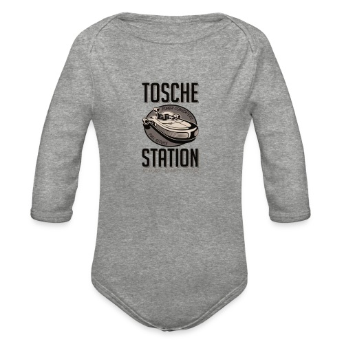 Tosche Station merch - Organic Long Sleeve Baby Bodysuit