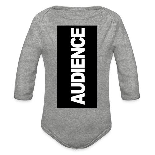 audenceblack5 - Organic Long Sleeve Baby Bodysuit