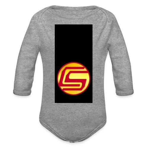 siphone5 - Organic Long Sleeve Baby Bodysuit
