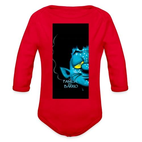 case4iphone5 - Organic Long Sleeve Baby Bodysuit