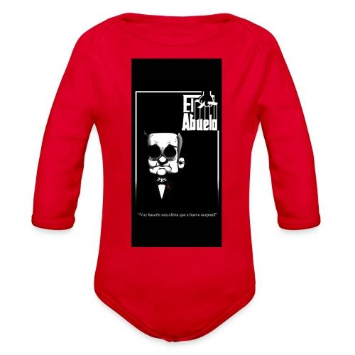 case5iphone5 - Organic Long Sleeve Baby Bodysuit