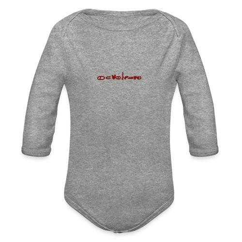 Sign1News in written ASL (Exclusive Design) - Organic Long Sleeve Baby Bodysuit