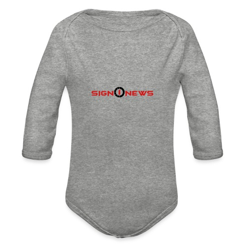 Sign1 Fashion - Organic Long Sleeve Baby Bodysuit