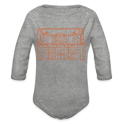 Chancellery in Berlin - Organic Long Sleeve Baby Bodysuit
