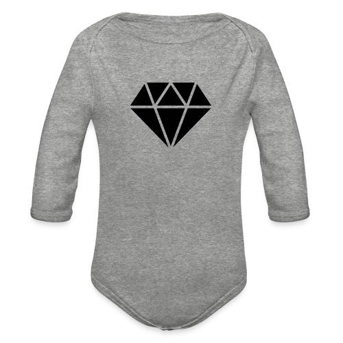 icon 62729 512 - Organic Long Sleeve Baby Bodysuit