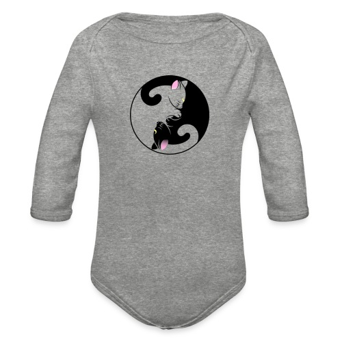 The Ying to my Yang - Organic Long Sleeve Baby Bodysuit