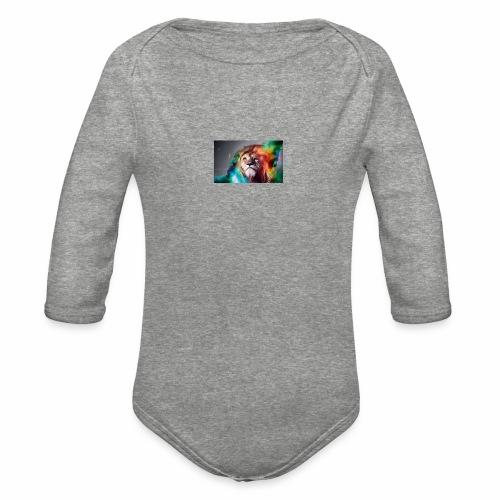 Lion - Organic Long Sleeve Baby Bodysuit