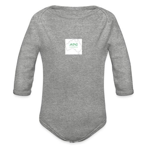 AussieDadGaming - Organic Long Sleeve Baby Bodysuit
