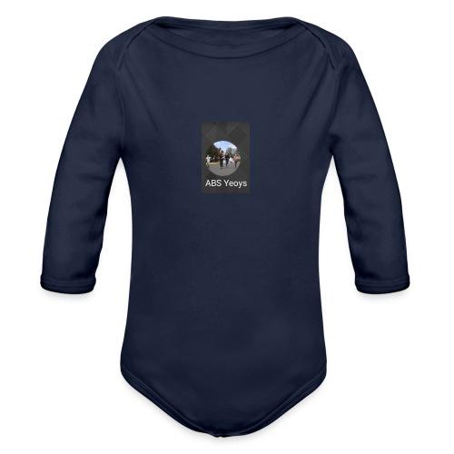 ABSYeoys merchandise - Organic Long Sleeve Baby Bodysuit