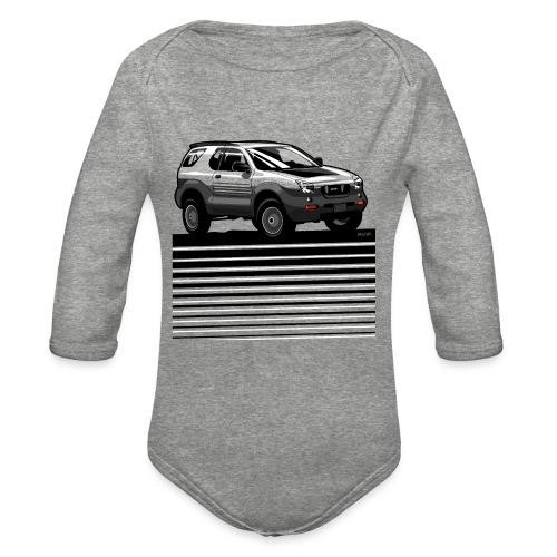 VX SUV Lines - Organic Long Sleeve Baby Bodysuit