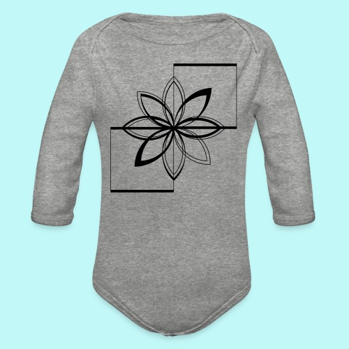 Colour Me DAIZEY Magenta - Organic Long Sleeve Baby Bodysuit