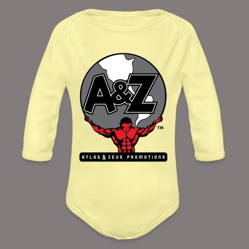 A Z Logo Randy Santel - Organic Long Sleeve Baby Bodysuit