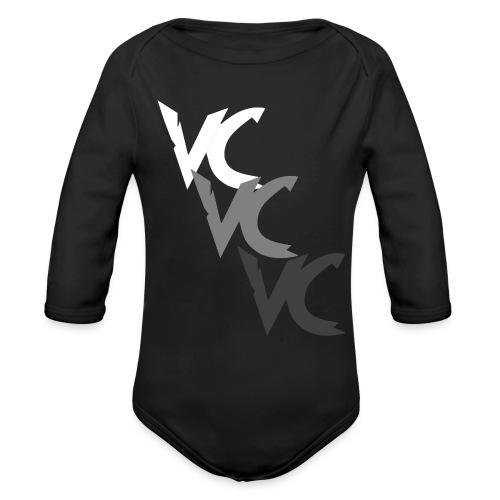V3L0C1TY Logo Mugs & Drinkware - Organic Long Sleeve Baby Bodysuit