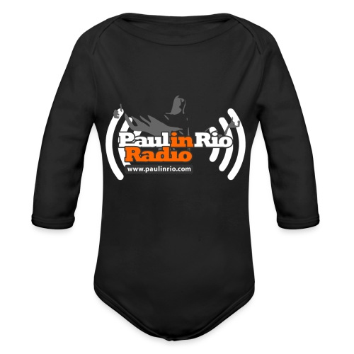 Paul in Rio Radio - Thumbs-up Corcovado #1 - Organic Long Sleeve Baby Bodysuit