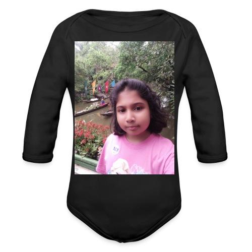 Tanisha - Organic Long Sleeve Baby Bodysuit