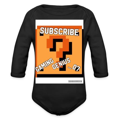 B352BFF4 2E34 449A 996F 7F29B471DB3E - Organic Long Sleeve Baby Bodysuit