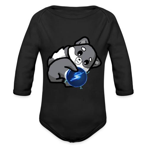 Eluketric's Zapp - Organic Long Sleeve Baby Bodysuit