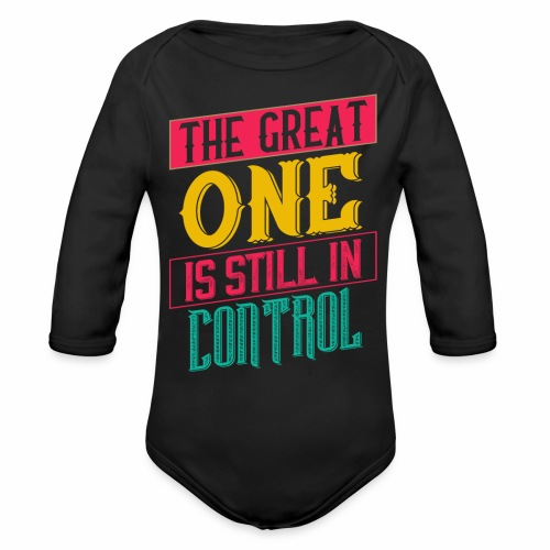 THE GREAT ONE - BRIGHT - Organic Long Sleeve Baby Bodysuit