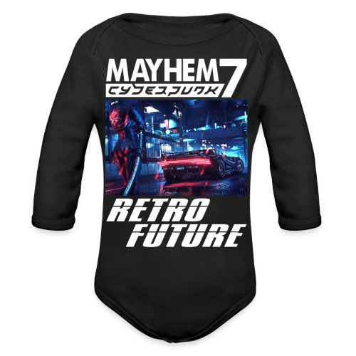 M7 Cyberpunk - Organic Long Sleeve Baby Bodysuit