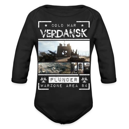 Verdansk Plunder - Organic Long Sleeve Baby Bodysuit