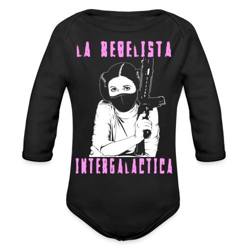 La Rebelista - Organic Long Sleeve Baby Bodysuit