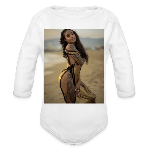 Sheesh - Organic Long Sleeve Baby Bodysuit