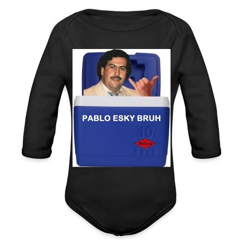 Pablo Esky Bruh - Organic Long Sleeve Baby Bodysuit
