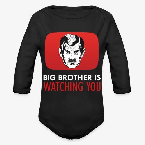 big brother - Organic Long Sleeve Baby Bodysuit