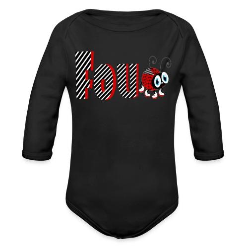 4nd Year Family Ladybug T-Shirts Gifts Daughter - Organic Long Sleeve Baby Bodysuit