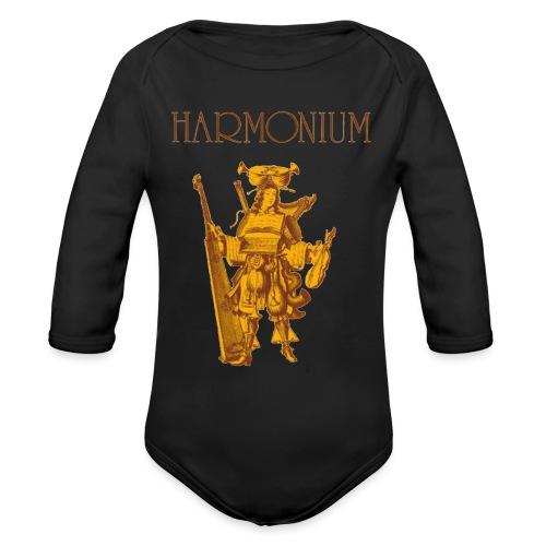 harmonium! - Organic Long Sleeve Baby Bodysuit