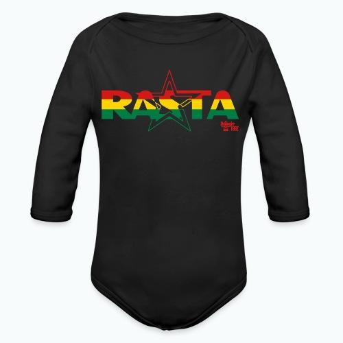 RASTA - Organic Long Sleeve Baby Bodysuit